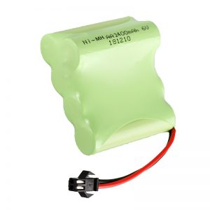 NiMH-ladattava akku AA2400 6V ladattavien sähkölelujen työkalujen akku