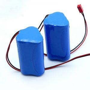 Ladattava Li-ion 3S1P 18650 10.8v 2250mah litiumioniakku lääkinnälliseen laitteeseen