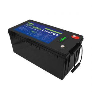 Syvä sykli 12V / 24V / 36V / 48V 200Ah aurinkovarastointilaite UPS 12v LiFePO4-litiumakut golfkärryyn