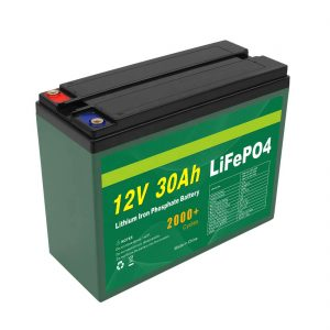 Alkuperäinen akku 12V 30Ah 4S5P Lithium 2000+ Deep Cycle Lifepo4 -kennovalmistaja