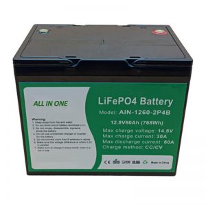 ALL IN ONE Sylinterimäinen 2000 syklin litiumakku 12v60Ah akku energian varastointiin