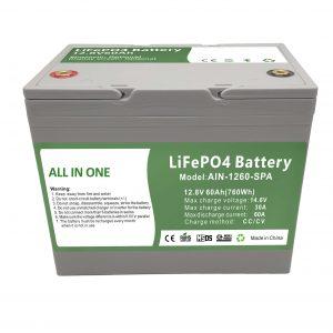 Tehtaalla myydään 12.8V60Ah muovinen kotiakku 2000 jaksoa lifepo4-akku 12v kotienergiaan