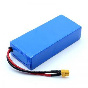 Ladattava korkealaatuinen 12v 12Ah litiumioniakku 3S6P litiumioniakkujen pakkaus
