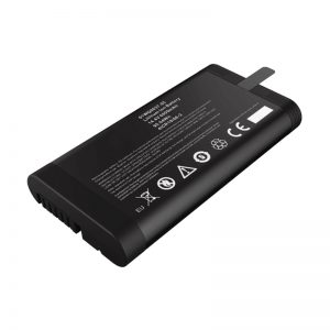 14,4 V: n 6600 mAh: n 18650-litiumioniakku Panasonic-akku verkkotesterille SMBUS-tiedonsiirtoportilla