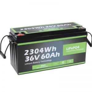 Tehtaanmyymälän turvallisuussuunnittelu Long Life Marine 36v 60ah Battery Lifepo4