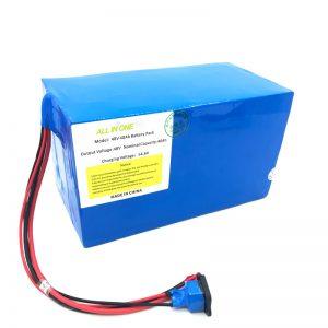 Räätälöity 18650 48V 40Ah litiumakku sähköpyörälle, e-veneelle, sähköpotkulaudalle