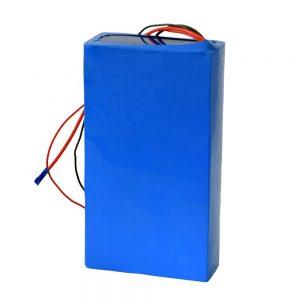 Ladattava 60v 12ah litiumakku sähköpotkulaudalle