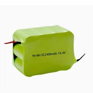 NiMH-ladattava akku SC 2400mAH 14.4V